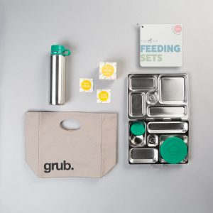 The Tot Feeding Sets: Off-To-School