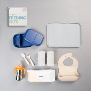 The Tot Feeding Sets: On-The-Go (1 year +)