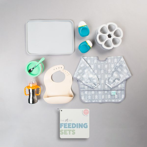 The Tot Feeding Sets Starting Solids Stage 1 & 2 (6 – 9m)