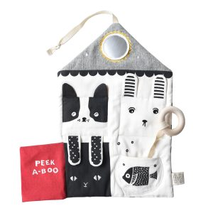 Wee Gallery Peekabook Pets Activity Pad
