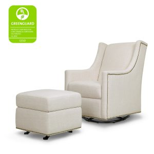 MDB Harper Swivel Glider with Ottoman