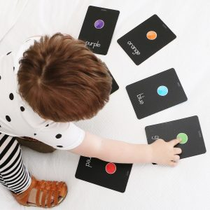 Alpha Baby Designs Color & Shapes Flash Cards