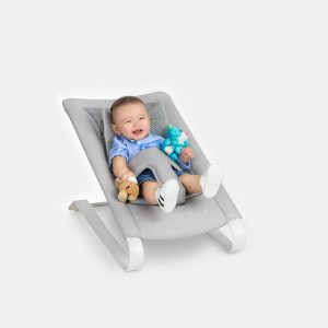 Bombol Bamboo Bouncer Pebbel Grey