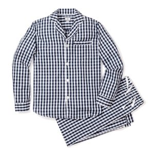 Petite Plume Adult Navy Gingham