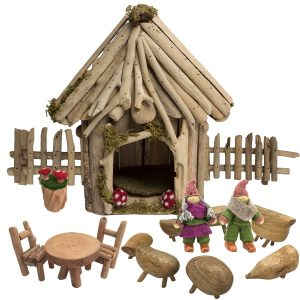 Papoose Toys Fairy House Set