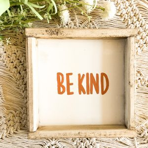 love, Holston Be Kind Terracotta