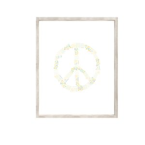 love, Holston Peace Sign Print