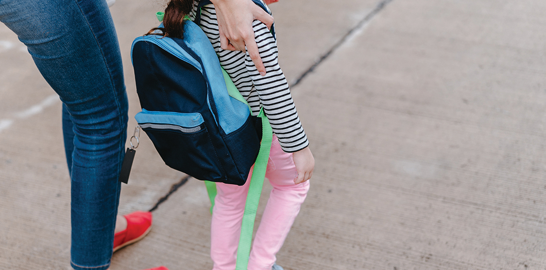 child returning to school during covid 19