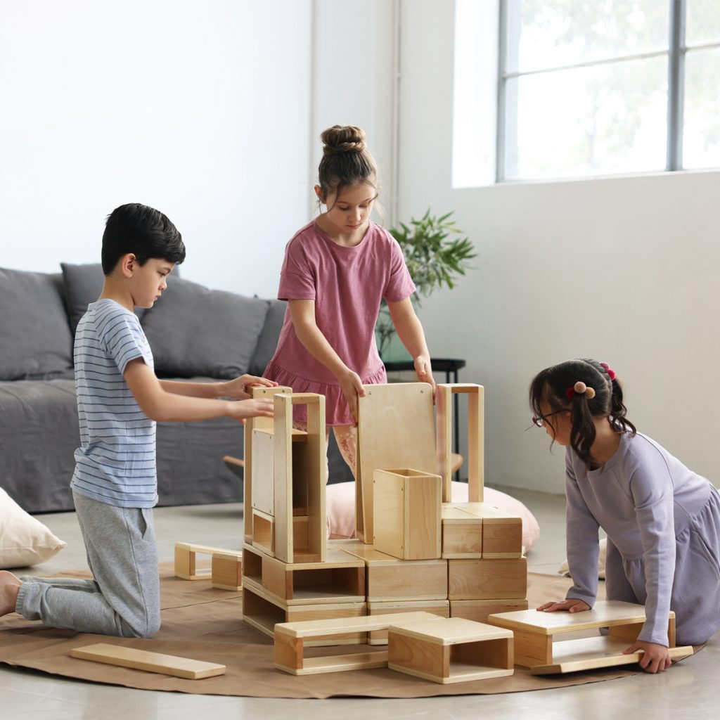 Guidecraft Wooden Blocks