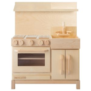 Milton & Goose Essential Play Kitchen + Hood - Natural