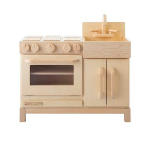 Milton & Goose Essential Play Kitchen - Natural