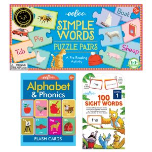 eeBoo Learn to Read Educational Set