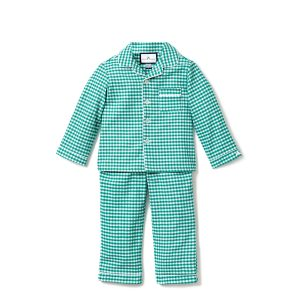 Petite Plume Green Gingham PJ Set
