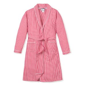 Petite Plume Red Gingham Robe