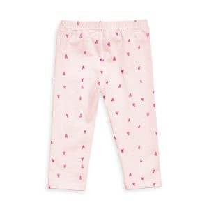 12 12 Leggings Pink Hearts