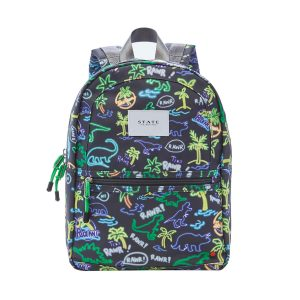 STATE Bags The Kane Backpack - Neon Dino