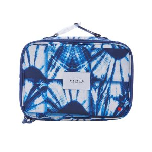 STATE Bags The Rodgers Lunch Box - Indigo Patchwork