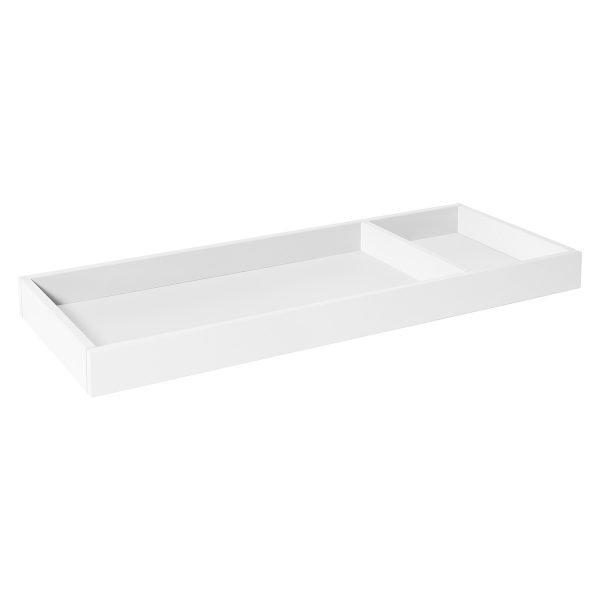 Universal Wide Removable Changing Tray in White