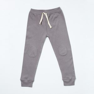 HART + LAND Baby/ Toddler/ Big Kid Organic cotton ribbed jogger