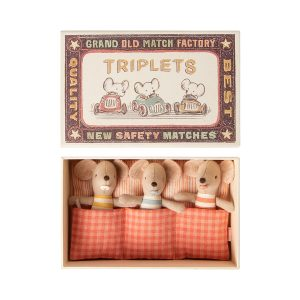 Maileg Baby Triplets in a Box