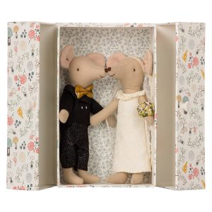 Maileg Wedding Mice in a Box