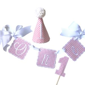 Storybook Goods Preppy Pink Party Set