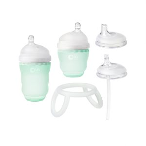 Olababy Bottle Transitional Set - Mint