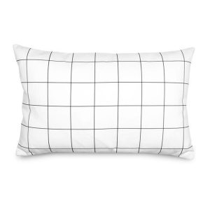 Olli + Lime Grid Accent Pillow