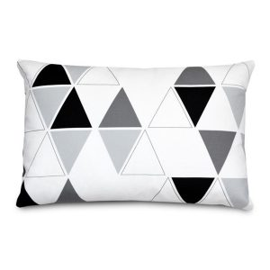 Olli + Lime Triangle Accent Pillow