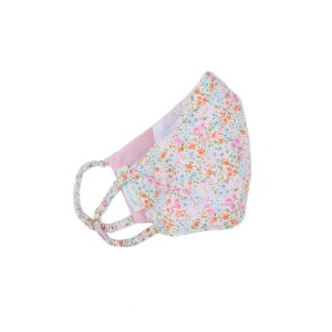 Poeme & Poesie Printed Heirloom Mask - Pastel Flowers Adult