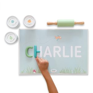 Dough Parlour Custom Name Mats - Boy
