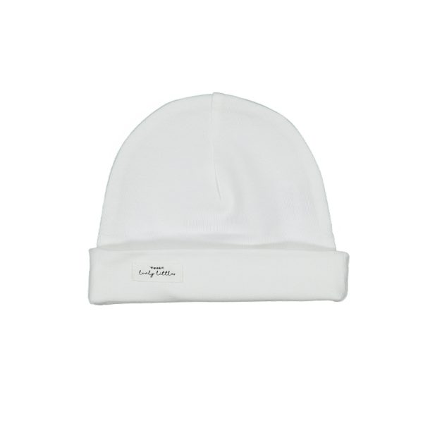 LovelyLittlesFW20CottonHatWhite1