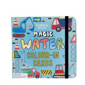 Floss & Rock Construction Magic Water Changing Cards