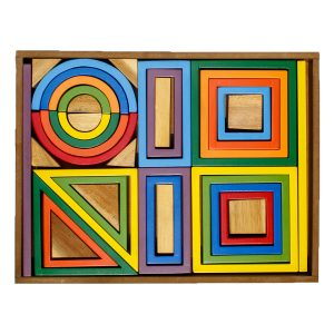 Q Toys Rainbow Blocks