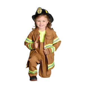 Aeromax Baby/Toddler/Big Kid Jr. Firefighter Suit - Tan