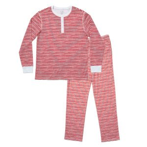 HART + LAND Men's organic pima cotton PJ set - painted stripes
