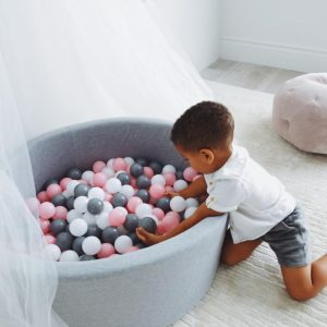 Balu Organics Medium Ball Pit - Grey