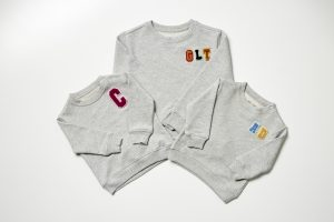 HART + LAND Personalized organic cotton sweatshirt