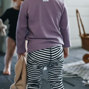 Lovely Littles Ribbed Leggings Stripe