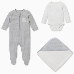 MORI Soak & Sleep Gift Set - Grey