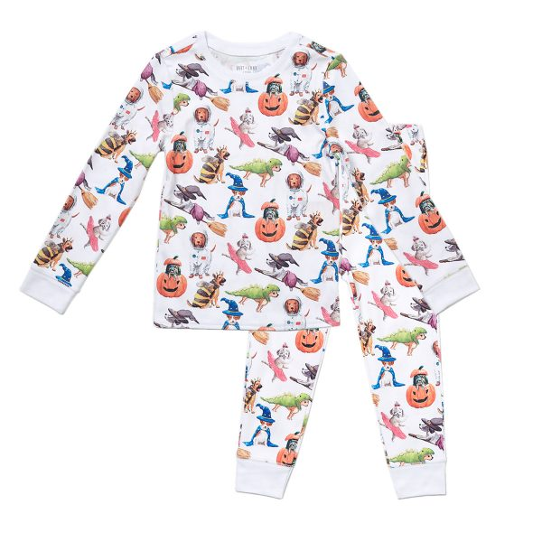 HART-LAND-ToddlerBig-Kid-Organic-Pima-Cotton-PJ-Set-Halloween-Pups1