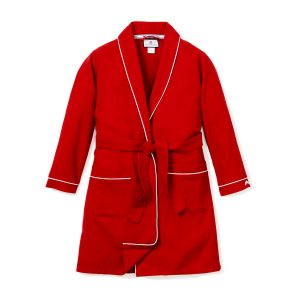 Petite Plume Childrens Red Flannel Robe