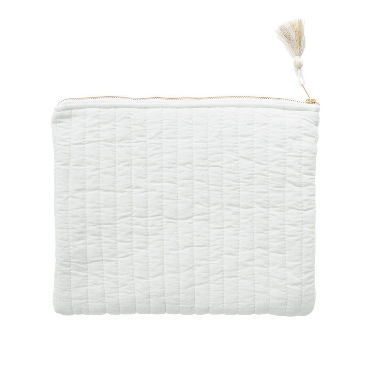 Louelle Linene Pouch French Grey
