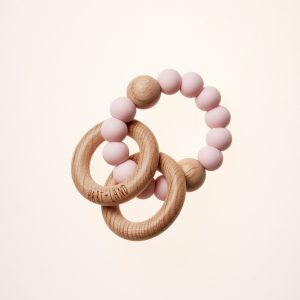 Hart + Land Teether Pink