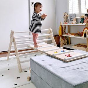 Lily & River Birch Climber White Ladder