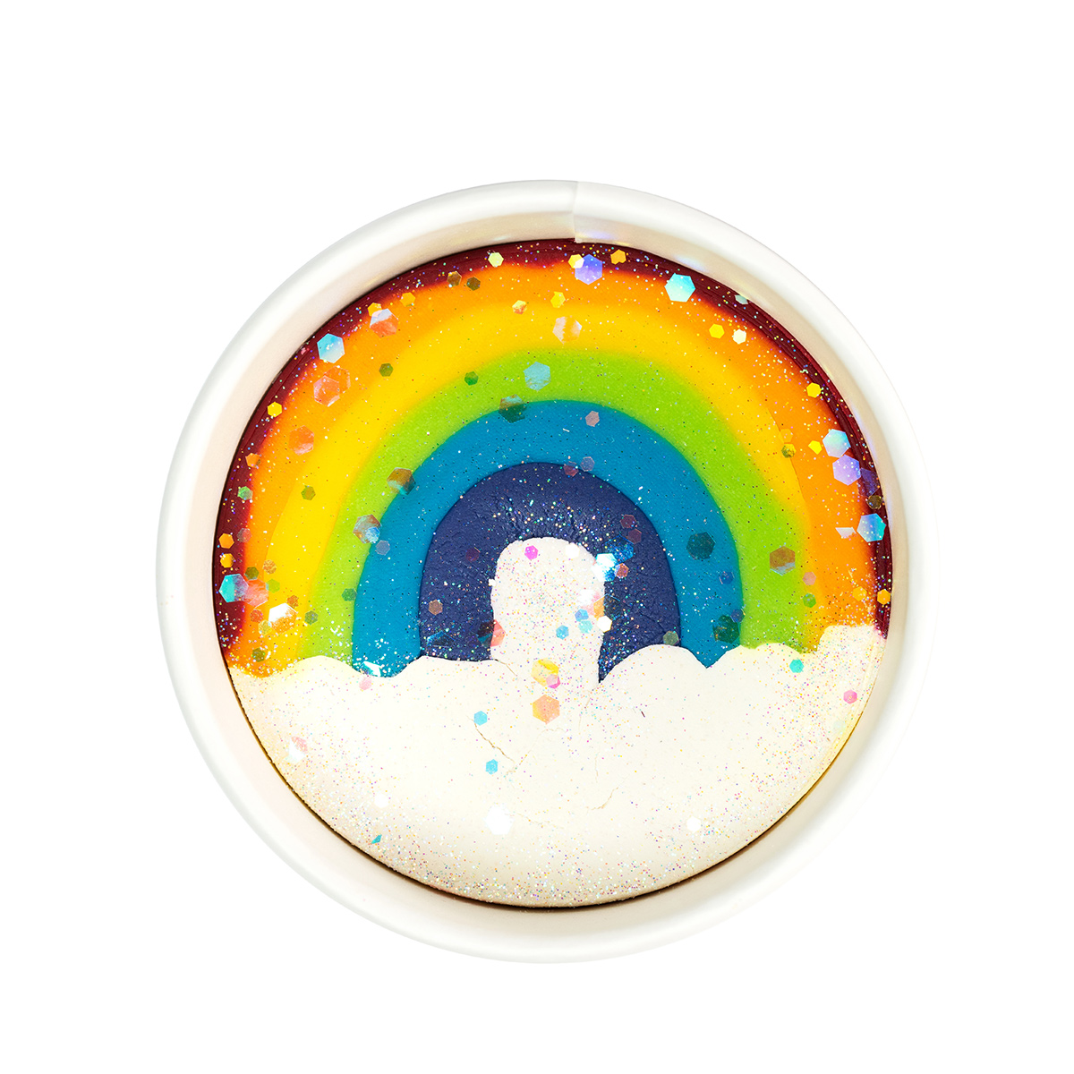 Land of Dough Over the Rainbow Luxe Cup