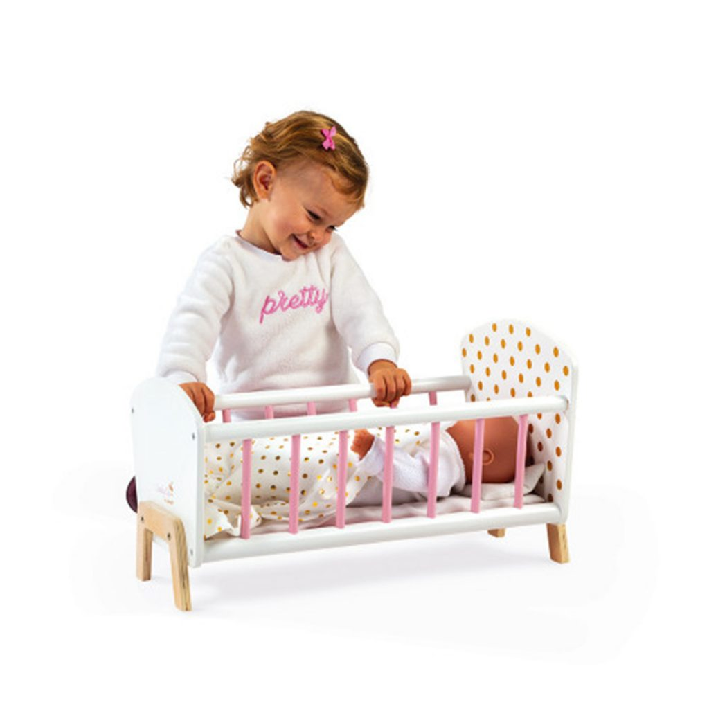 Janod Toys Candy Chic Doll's Bed