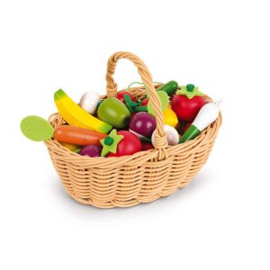 Janod Fruits and Vegetables Basket