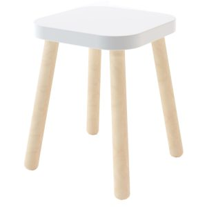Oeuf Square Stool
