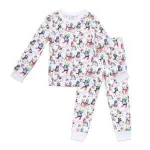 Hart + Land Kids PJ Winter Penguins
